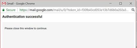 Backup Gmail Emails Close window image