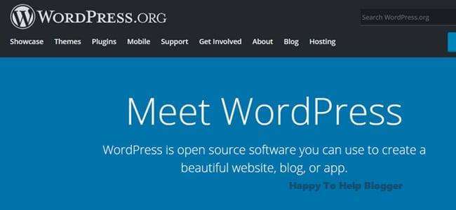 How to start a blog wordpress dot org image