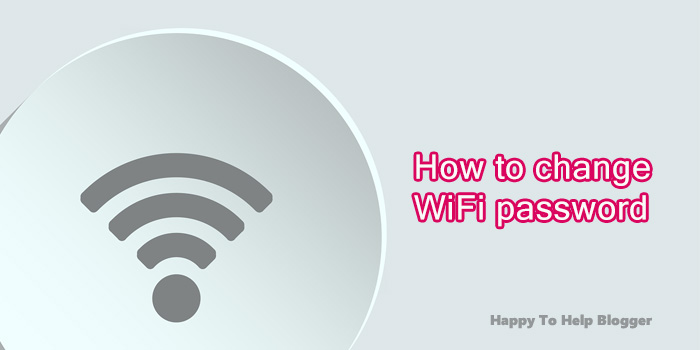 How to change WiFi password featured image