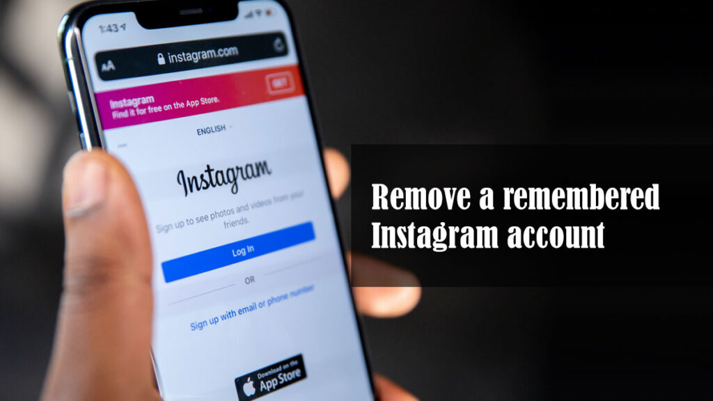 Remove a remembered Instagram account featured image