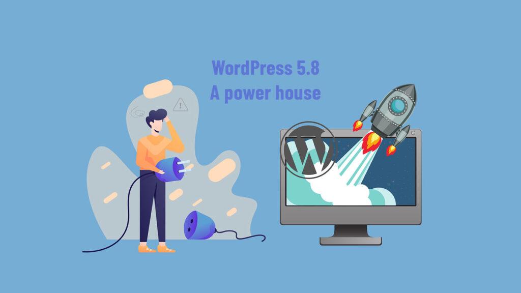 WordPress 5.8 tatum featured image